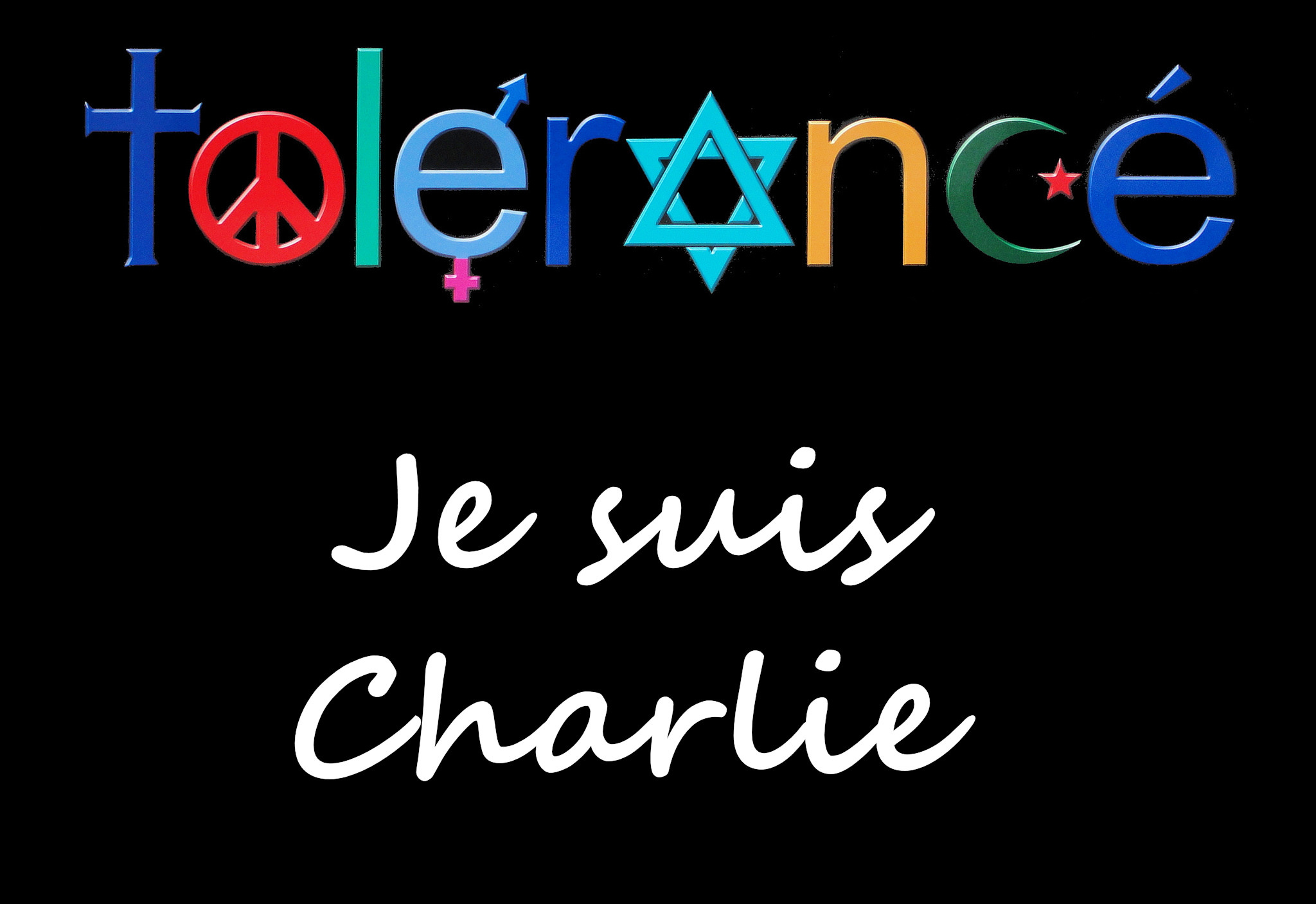 Шарли Эбдо - толерантны? Фото: Gertrud K