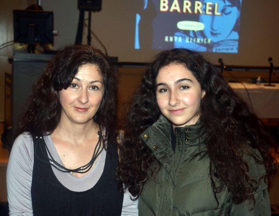 Лара Вапняр с дочерью Стешей