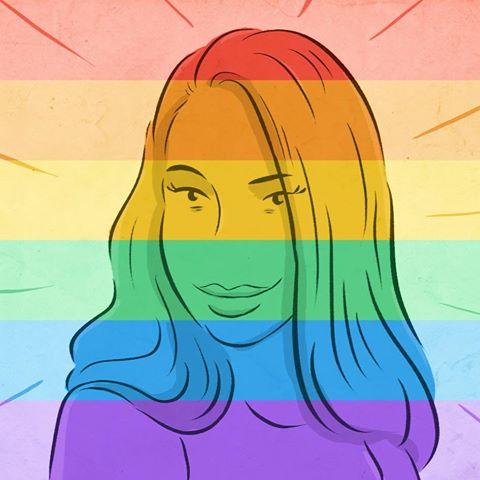 """Вся либеральная община мира празднует победу. Флешмоб в Фейсбук: не только представители ЛГБТ, но и гетеросексуалы по всему миру  воспользовались приложением, которое  выпустил Фейсбвук, и сменили фотографии на """"радужные"""" в честь исторического принятия решения о ЛГБТ-браках в Верховном суде США."""