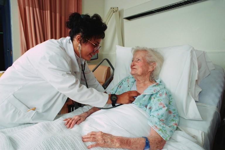 hospital care vs nursing home care