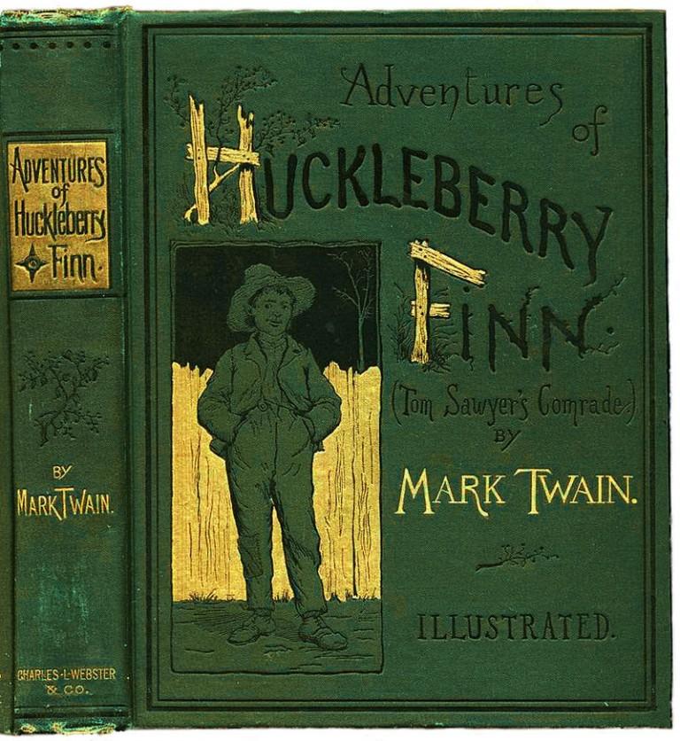 an analysis of satire in the adventures of huckleberry finn a novel by mark twain